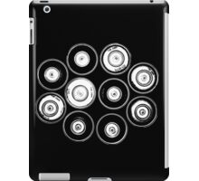 Graffiti Black and White iPad Case/Skin