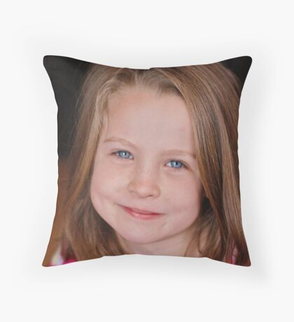 Courtney Kaj Matheson. Throw Pillow