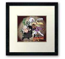 Psychteria - Main Characters Framed Print