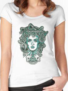 Medusa Women's Fitted Scoop T-Shirt