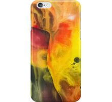 Abstraction watercolor painting - cave iPhone Case/Skin