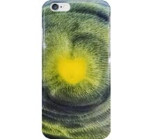 Abstraction watercolor painting - heart iPhone Case/Skin