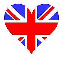 LOVE BRITAIN Photographic Print