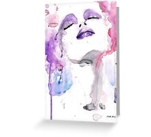 Pink four Greeting Card
