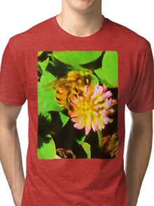 Bee and Clover Tri-blend T-Shirt