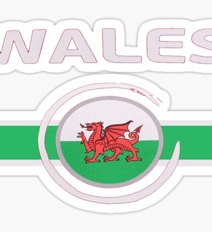 Wales National Football Team Sticker