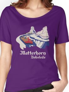 Matterhorn Bobsleds Women's Relaxed Fit T-Shirt