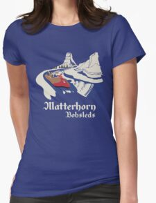 Matterhorn Bobsleds Womens Fitted T-Shirt