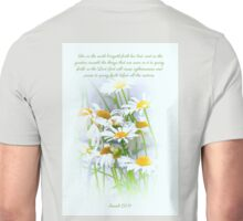 Isaiah 61;11 with Daisies Unisex T-Shirt
