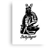 """Bushidogear"" Artwork by Carter L. Shepard""  Canvas Print"
