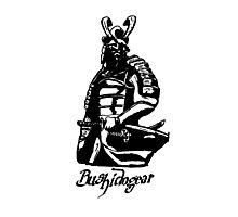 """Bushidogear"" Artwork by Carter L. Shepard""  Photographic Print"
