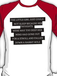 Wonderland Quote T-Shirt