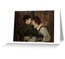 Jamie & Claire Fraser Greeting Card