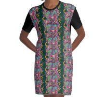 Beauty Buddha Graphic T-Shirt Dress