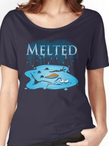 Melted Women's Relaxed Fit T-Shirt