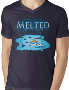 Melted Mens V-Neck T-Shirt