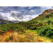 Autumn in Lake District Photographic Print