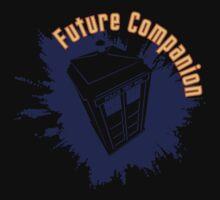 Doctor Who: Future Companion with TARDIS  Kids Tee