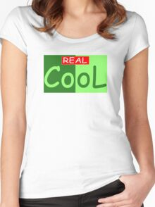 Really Cool Women's Fitted Scoop T-Shirt