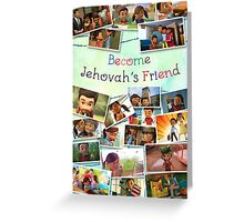 Become Jehovah's Friend - Caleb and Sophia Snapshots Greeting Card