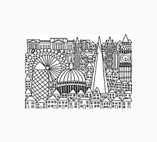 London Landmarks Sketch Unisex T-Shirt