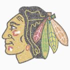 Chicago Blackhawks Typography Logo by Joe Hammel
