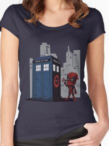 deadpool Women's Fitted Scoop T-Shirt