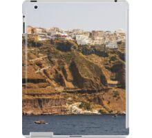 Thíra, Santorini, Greece iPad Case/Skin