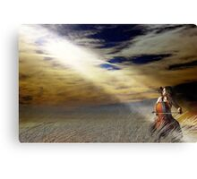 Cello Beach Canvas Print