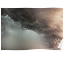 Crazy Rain Cloud Poster