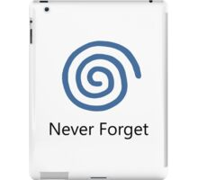 Never Forget: Dreamcast iPad Case/Skin