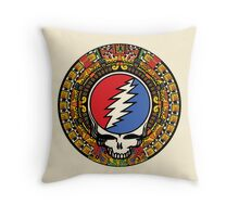 2012 Mayan Steal Your Face - Full Color Throw Pillow
