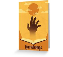 The Book Is Alive! Greeting Card