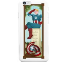 Haunted Avengers: Captain America iPhone Case/Skin