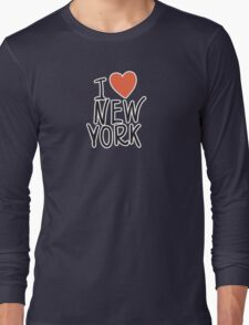 I Love New York Long Sleeve T-Shirt