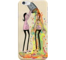 Make Your Friend Colorful iPhone Case/Skin