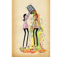 Make Your Friend Colorful Photographic Print