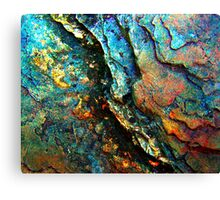 Metallic Layers Canvas Print