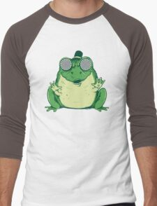 Hipnogenic Toad  Men's Baseball ¾ T-Shirt