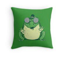 Hipnogenic Toad  Throw Pillow