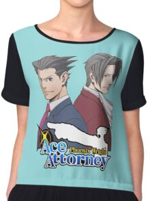 Ace Attorney - Rivals Chiffon Top