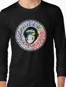 Rainbow colored Monkey / Philip DeFranco Show Logo Long Sleeve T-Shirt