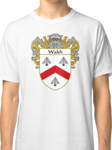 Walsh Coat of Arms / Walsh Family Crest Classic T-Shirt