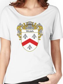 Walsh Coat of Arms / Walsh Family Crest Women's Relaxed Fit T-Shirt