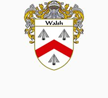 Walsh Coat of Arms / Walsh Family Crest Unisex T-Shirt