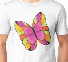 Butterfly Pinkie Unisex T-Shirt