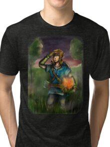 Link Wallpaper Tri-blend T-Shirt