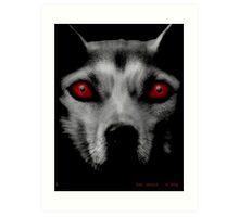 SNES Reboot - DOG SPIRIT  Art Print