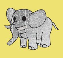 Satao the Paper Elephant Kids Tee