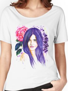 Pansy Flowers Women's Relaxed Fit T-Shirt